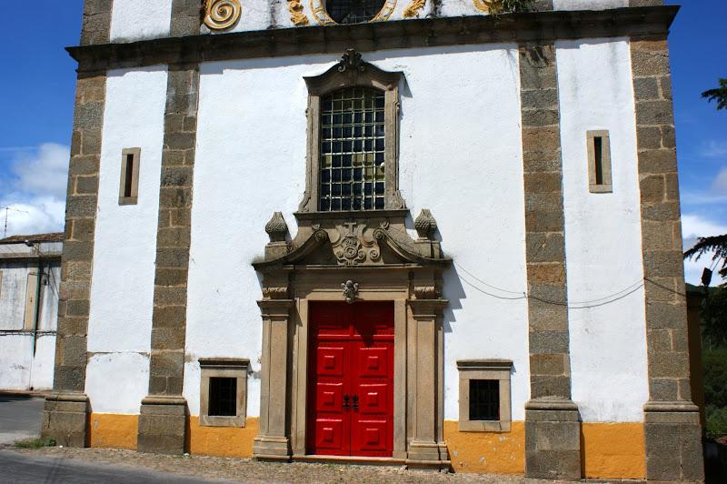 Fachada principla, igreja do Bonfim, Portalegre