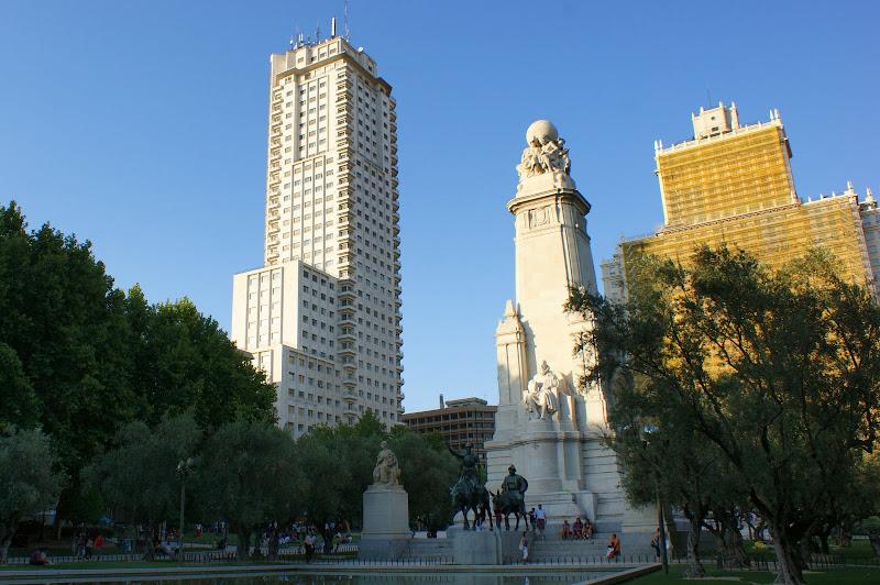 Madrid, Plaza de España