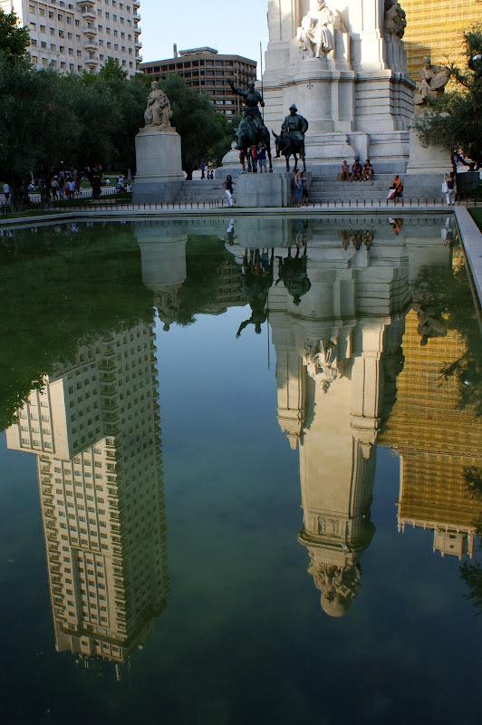 Reflexos em Madrid