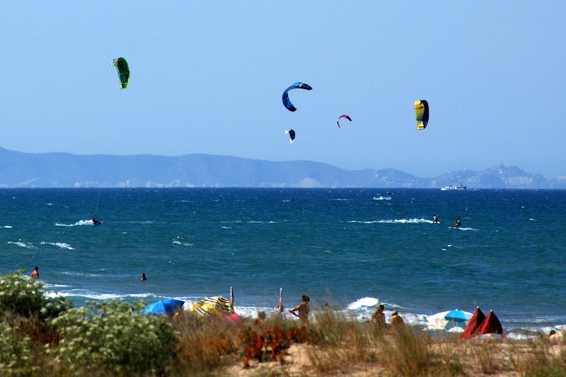 Camping Kiko Park, Oliva, Vista da praia, Kite Surf