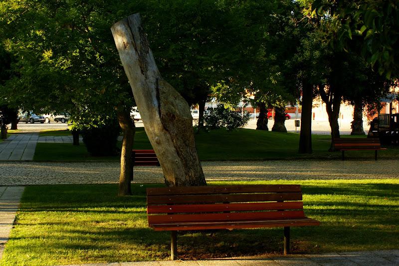 Jardim da Beira mar, Setúbal, banco