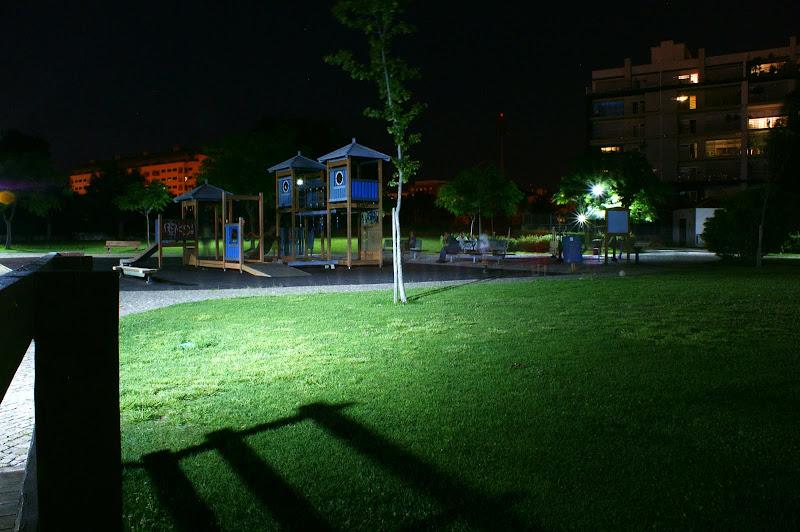 Jardim da Algodeia À noite
