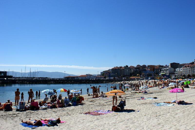 Praia de Portonovo, Sanxenxo, Galiza