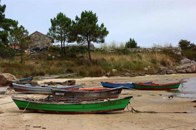 Praia nas rias da Galiza