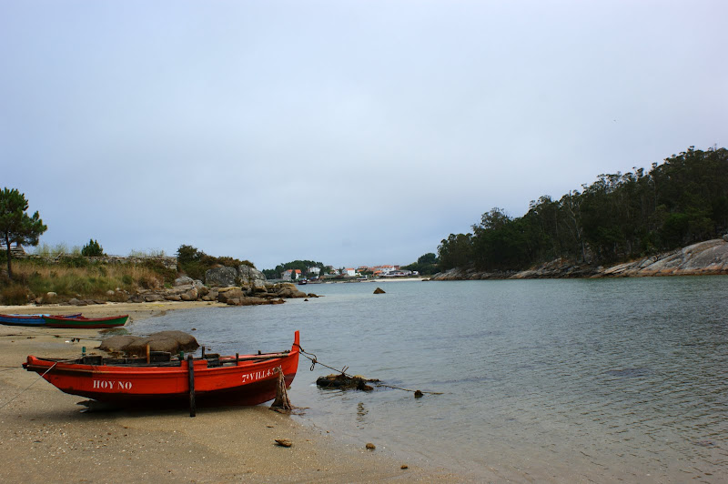 Barcos na Praia, O grove