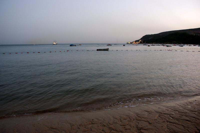 O veleiro desde Albarquel