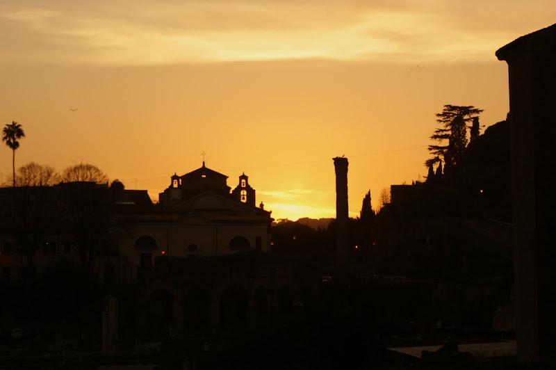 Fim do dia em Roma