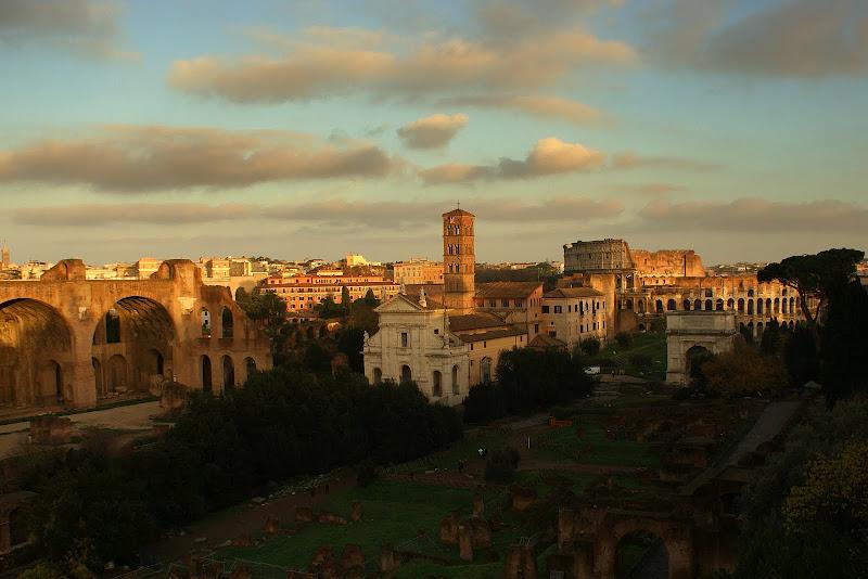 Fim de atrde em Roma