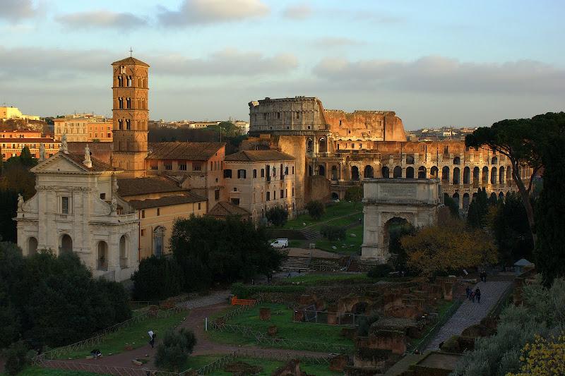 Fim de tarde em Roma, Foro Romano