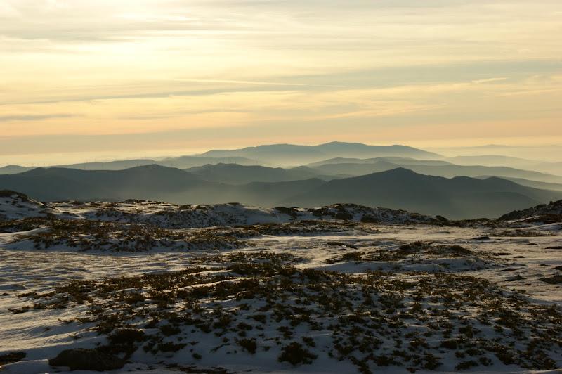 Dia de Inverno no planalto da Serra da Estrela