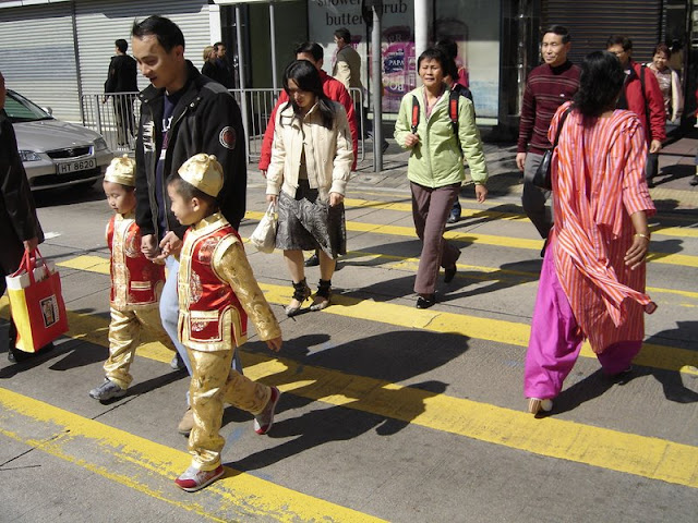 Mieszkańcy Kowloonu