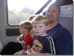 monorail ride