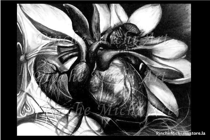 Lotus Heart Poster