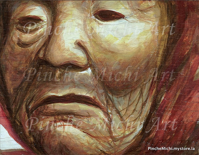 Old Woman Mask Original