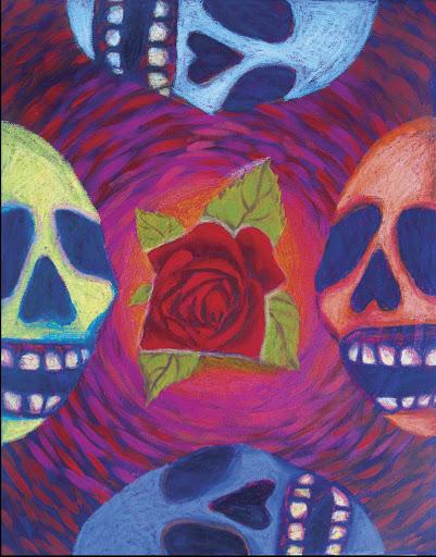 Calaca rose Original