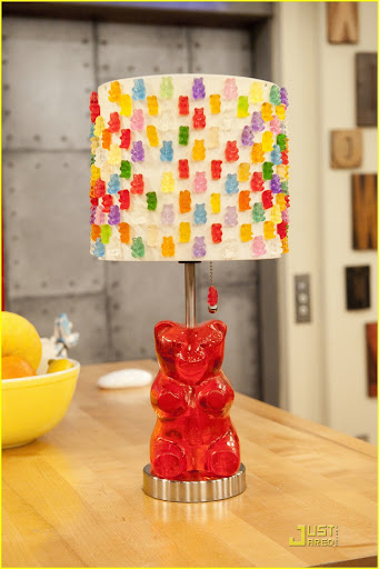 iCARLY  301 iGot  a Hot Room Gummy Bear Lamp in Carly Shay's  bedroom in iCarly on Nickelodeon. Photo Credit: Lisa  Rose/Nickelodeon. ©2010 Viacom International,Inc. All Rights Reserved