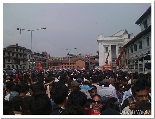 Madan Krishna n Haribansha wonderfully entertaining huge crowd of peace lovers in Basantapur