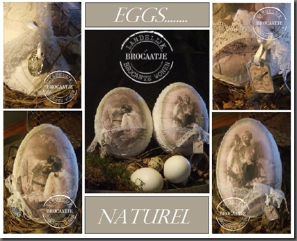 eggs naturel