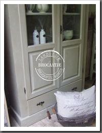 brocante vitrinekast 012