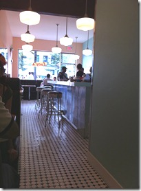 lucy's east side diner interior