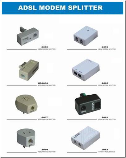 Computer and Communications: DSL filter / Splitter