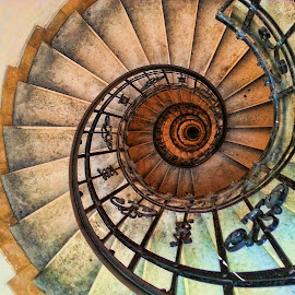 Spiral Staircase of St. Stephen Basilica by Lux Aeterna - Instagram & Mobile Android