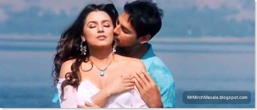 Mahima Chaudhary - Early Captures from Mahima Chaudhary's Hot Song in 'Gumnaam'...