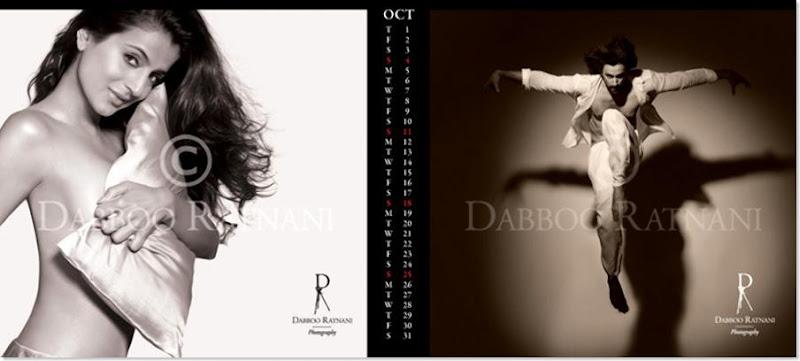 Bollywood Babes get Bolder & Hotter for Daboo Ratnani's 2009 Calendar...
