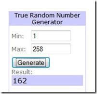 162 winner