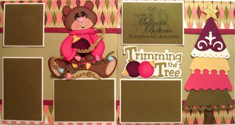 cricut day 3 trimming the tree project