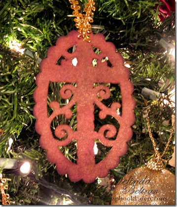 ornament cross close up