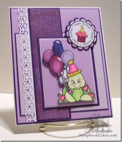 cricut birthday turtle digi peachy keen stamp card-500
