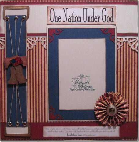 cricut one nation under Elohim-450