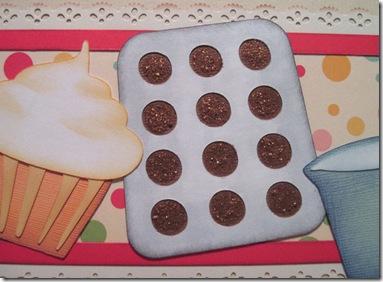 muffins close up -500j