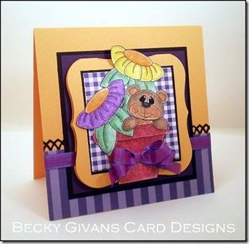 becky g card