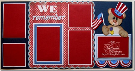 cricut memorial day stand and salute we remember layout 500