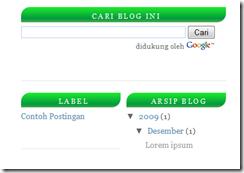 mengganti background pada judul atau titel sidebar<