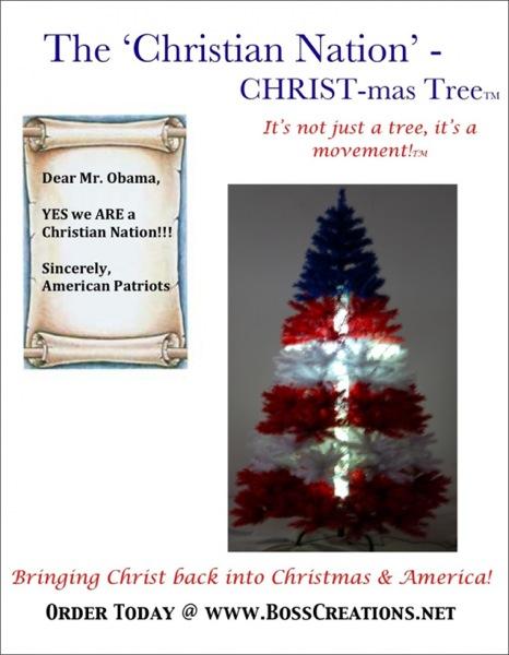 Christian Nation Tree