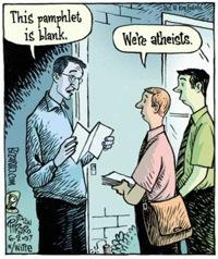 Bizarro atheists