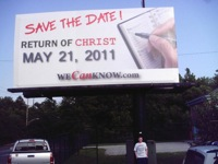 rapture billboard