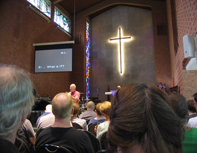 Brian McLaren preaching at Transform, 2010
