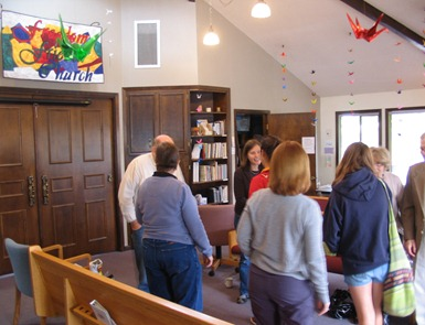Quaker Youth Pilgrimage visits Freedom Friends Church