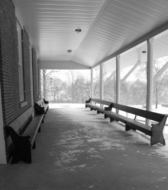 Stillwater Meeting House Porch