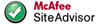 Rate Us at McAfee SiteAdvisor