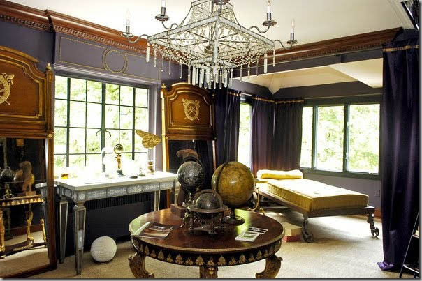 Steampunk bedroom decor