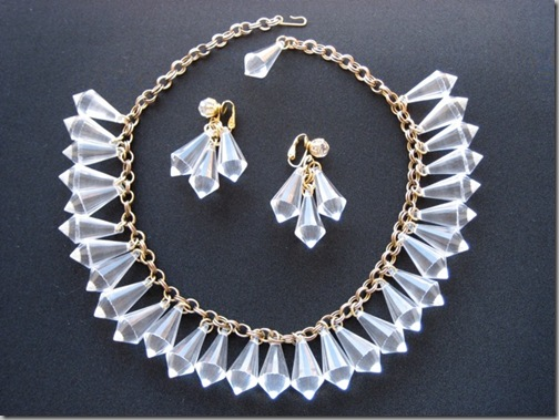50s lucite necklace