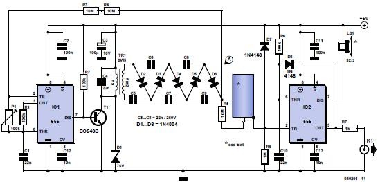 Circuit diagram - Click to enlarge