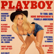 Pamela Anderson Fotos | Playboy Julio 1992