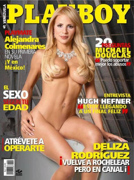 Deliza Rodriguez Revista Playboy Abril Fotos