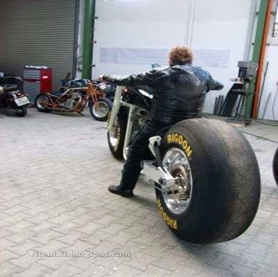 two Big Bikes